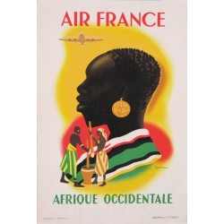 AIR FRANCE. AFRIQUE OCCIDENTALE