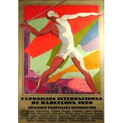 EXPO 1929 GRANDES FESTIVALES DEPORTIVOS