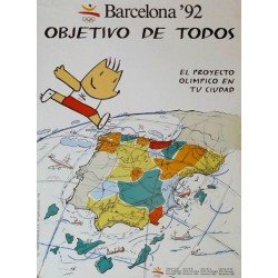 JJ.OO. BARCELONA '92 OBJETIVO DE TODOS