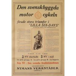 DEN SVENSKBYGGDA MOTOR CYKELN. 1928