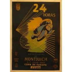 24 HORAS MOTOCICLISTAS DE MONTJUICH 1963