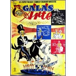 EL ESPECTACULO COMICO-TAURINO-MUSICAL GALAS ARTE