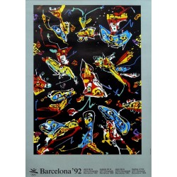 JUEGOS DE LA XXV OLIMPIADA BARCELONA 1992 -GAMES OF THE XXV OLYMPIAD. SAURA