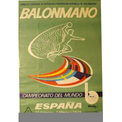 BALONMANO. CAMPEONATO DEL MUNDO. 1979