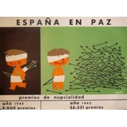 ESPAÑA EN PAZ PREMIOS DE NUPCIALIDAD