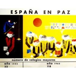 ESPAÑA EN PAZ COLEGIOS MAYORES