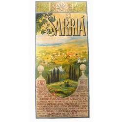 FIESTA MAYOR EN SARRIA AÑO 1912