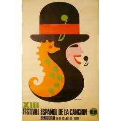 XIII FESTIVAL ESPAÑOL DE LA CANCION. BENIDORM 1971