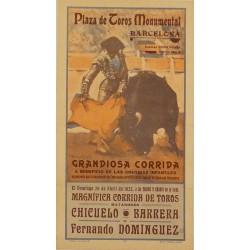 PLAZA DE TOROS MONUMENTAL. ABRIL 1935