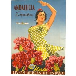 IBERIA. ANDALUCIA. LINEAS AEREAS DE ESPAÑA