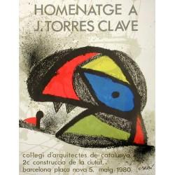 HOMENATGE J.TORRES CLAVE 1980. JOAN MIRO