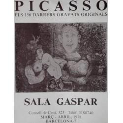 PICASSO-ELS 156 DARRERS GRAVATS ORIGINALS