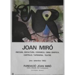 JOAN MIRÓ JUNY-SETEMBRE 1982