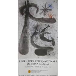 I JORNADES INTERNACIONALS DE NOVA MÚSICA