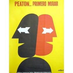 PEATON...PRIMERO MIRAR