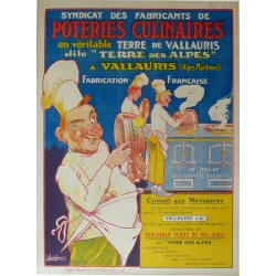 POTERIES CULINAIRES VALLAURIS