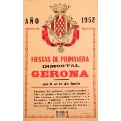 FIESTAS DE PRIMAVERA GERONA 1952