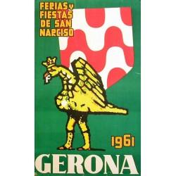 GERONA FERIAS Y FIESTAS DE SAN NARCISO 1961