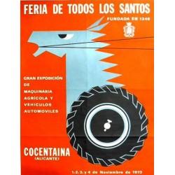FERIA DE TODOS LOS SANTOS COCENTAINA