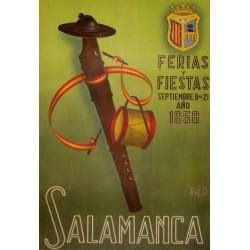 SALAMANCA FERIAS Y FIESTAS 1958
