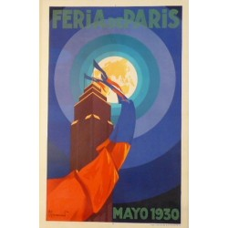 FERIA DE PARIS, MAYO 1930