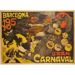 GRAN CARNAVAL, BARCELONA 1905