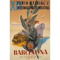 XIV FERIA DE MUESTRAS BARCELONA 1946