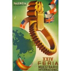 XXIV FERIA MUESTRARIO VALENCIA 1946