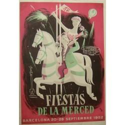 FIESTAS DE LA MERCED 1952. BARCELONA