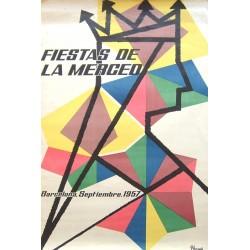 FIESTAS DE LA MERCED.1957.. BARCELONA