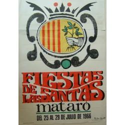 FIESTAS DE LAS SANTAS MATARO 1966