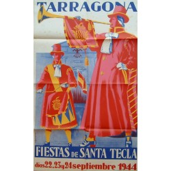 TARRAGONA FIESTAS DE SANTA TECLA 1944