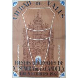 CIUDAD DE VALLS.FIESTAS DECENALES 1941