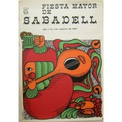 SABADELL FIESTA MAYOR 1970