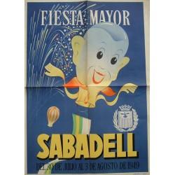 SABADELL FIESTA MAYOR 1949