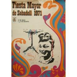 SABADELL FIESTA MAYOR 1971
