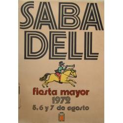 SABADELL FIESTA MAYOR 1972