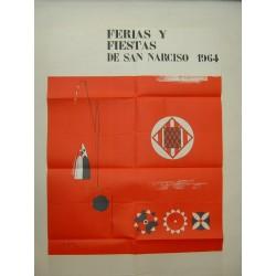 GERONA FERIAS Y FIESTAS DE SAN NARCISO 1964