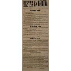 FIESTAS EN GERONA 1876