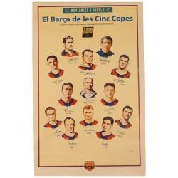 EL BARÇA DE LES 5 COPES. HOMENATGE A KUBALA