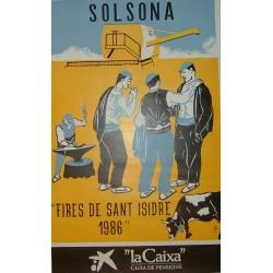 SOLSONA FIRES DE SANT ISIDRE 1986