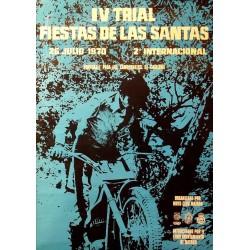 IV TRIAL FIESTAS DE LAS SANTAS 1970