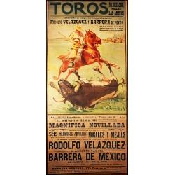 TOROS PLAZA DE LAS ARENAS 1935
