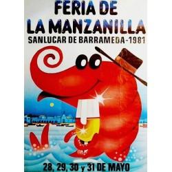 FERIA DE LA MANZANILLA 1981