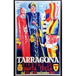 FIESTAS DE SANTA TECLA 1943