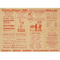 FIESTA MAYOR 1961 - MOLLET