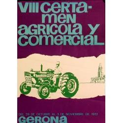 VIII CERTAMEN AGRÍCOLA 1972