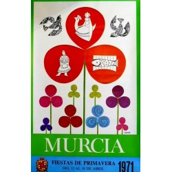 MURCIA FIESTAS DE PRIMAVERA 1971