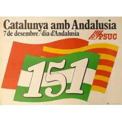 CATALUNYA AMB ANDALUSIA. PSUC