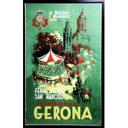 FERIAS Y FIESTAS DE SAN NARCISO. INMORTAL GERONA